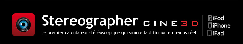 Stereographer, pour iPod, iPhone et iPad